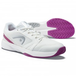 HEAD Sprint Team 2.5 Women's Tennis Shoes, White/Violet (only UK-6)