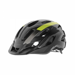 Giant Compel MTB Helmet-Gloss Black & Yellow