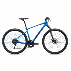 Giant Roam 2 Disc Hybrid Bike 2021-Metallic Blue