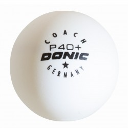 Donic Coach P40 + * Cell-Free Table Tennis Ball (6 Pack)