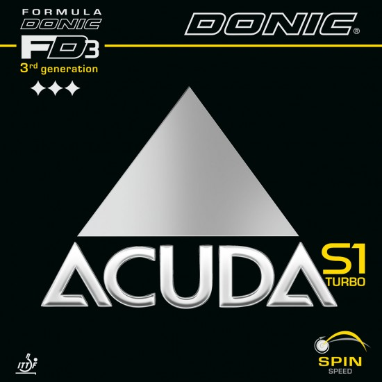 Donic Acuda S1 Turbo Table Tennis Rubber