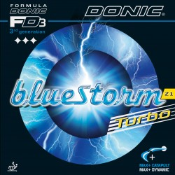 Donic Bluestorm Z1 Turbo Table Tennis Rubber