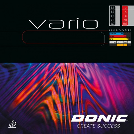 Donic Vario Table Tennis Rubber