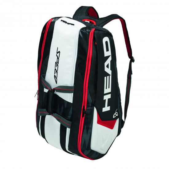 Head DJOKOVIC 12R MONSTERCOMBI - Black / White