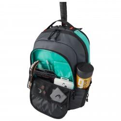 Head Gravity Backpack - Black / Teal