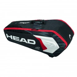 Head Djokovic COMBI 6 PACK Racket Bag Black / White