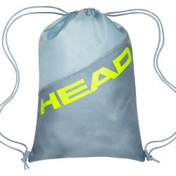 HEAD TOUR TEAM EXTREME SHOE SACK - Grey/Neon Yellow