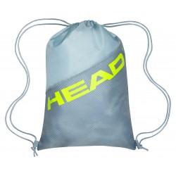 HEAD TOUR TEAM EXTREME SHOE SACK - Grey/Neon Yellow