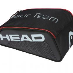 HEAD TOUR TEAM SHOE BAG - Black / Grey