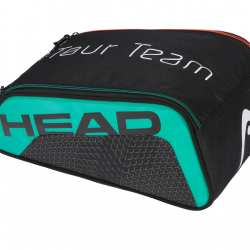 HEAD TOUR TEAM SHOE BAG - Black / Teal