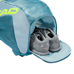 Head Tour Team Extreme Backpack - Grey / Neon Yellow