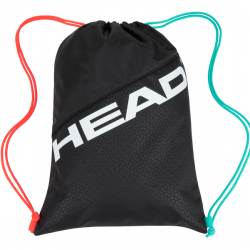 HEAD TOUR TEAM SHOE SACK GRAVITY - Black / Teal