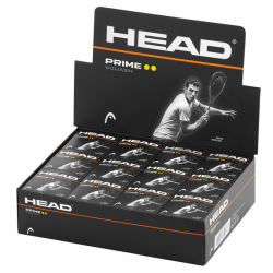Head Prime Squash Ball Double Dot-Yellow