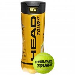 Head TOUR XT Tennis Balls (3 Balls Pack)
