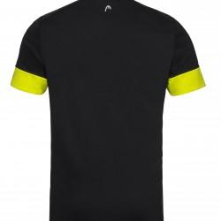 Head Golden Slam Polo - Black & Yellow