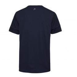 Head Racquet T-Shirt - Dark Blue & Red