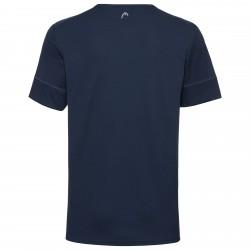 Head Medley T-Shirt - Royal Blue / Red