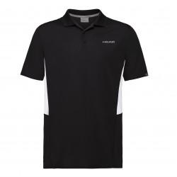 Head Club Tech Polo Shirt-Black