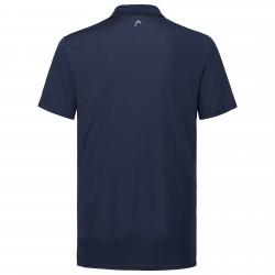 Head Club Tech Polo Shirt - Dark Blue