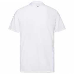 Head Club Tech Polo Shirt - White/Dark Blue