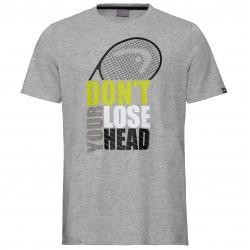 Head Return T-Shirt - Grey Melange