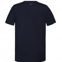 Head CLUB CHRIS T-SHIRT M - Dark Blue