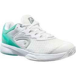 Head Women's Sprint Team 3.0 Tennis Shoes - White / Teal (Only UK-6)