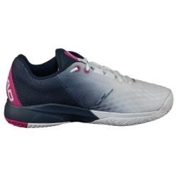 Head Women's Revolt Pro 3.0 Tennis Shoes- White / Dress Blue (Only UK-6)