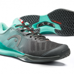 Head Sprint Pro 3.0 Tennis Shoe Black & Teal