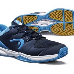 Head Grid 3.5 Indoor Court Shoes - Dark Blue / Aqua
