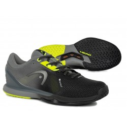 Head Sprint Pro 3.0 SF Tennis Shoe Black & Yellow