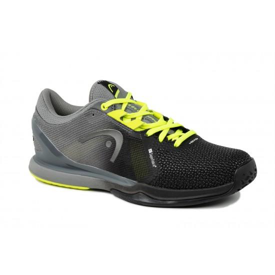 Head Sprint Pro 3.0 SF Tennis Shoe Black & Yellow