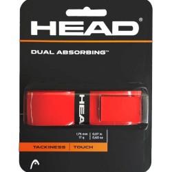 Head Dual Absorbing Grip-Red