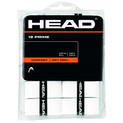 Head Prime OverGrip - White (12 Pack)