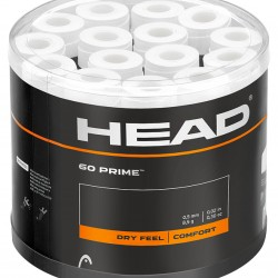 Head Prime OverGrip - White (60 Pack)