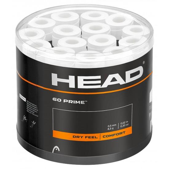 Head Prime OverGrip - White (60 Pack)