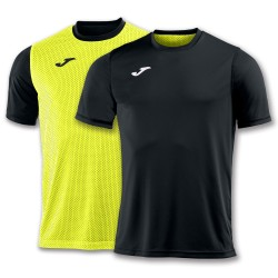 Joma T-Shirt Combi Reversible-Black & Yellow