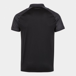 JOMA ESSENTIAL II POLO SHIRT - BLACK / ANTHRACITE