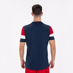 JOMA CREW T-SHIRT IV NAVY-RED
