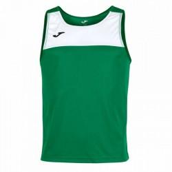 Joma T-Shirt--Race Green & White