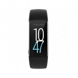 Polar Fitness Tracker with Wrist Based Heart Rate Monitor - Black A360