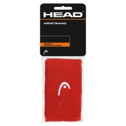 "Head Wristband 5"" - Red"