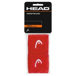 "Head Wristband 2,5"" - Red"