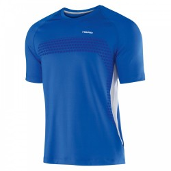 Head Performance Crew Neck Shirt - Blue