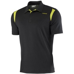 Head Performance Polo Shirt Cooling - Black