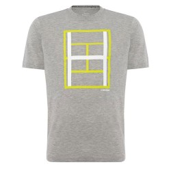 Head Race Tee T-Shirt - Grey Melange