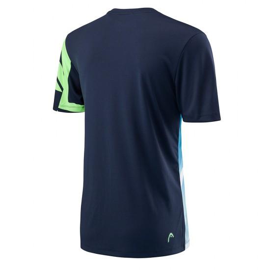 Head Vision Graphic T-Shirt - Navy