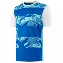 Head Vision M Cypher T-Shirt-Blue