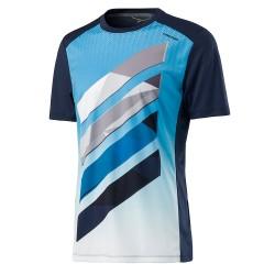 Head Vision Striped T-Shirt - Navy