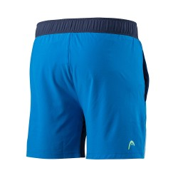 Head Vision Graphic Shorts - Navy